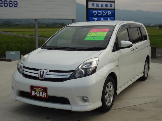 トヨタ プラタナ Vセレクション 社外SDナビ フルセグテレビ Bluetooth 左パワースライドドア