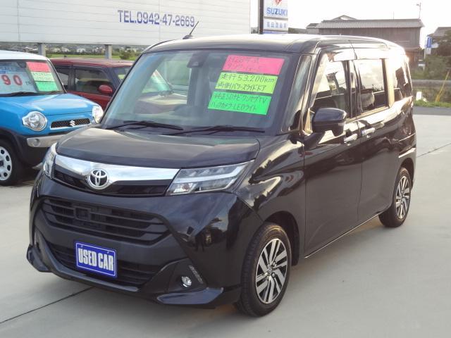 トヨタ タンク G S 純正SDナビ ワンセグテレビ バックカメラ Bluetooth 両側パワースライドア トヨタセーフティーセンス