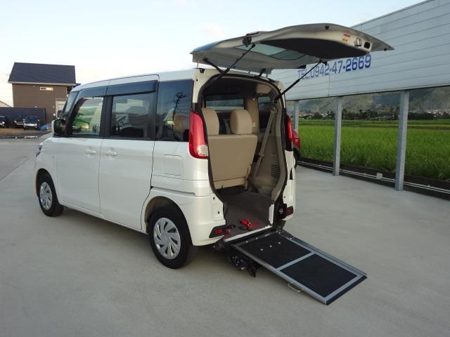 スズキ  E 車いす移動車 ワンオーナー 純正SDナビ フルセグ Bluetooth 電動ウインチ