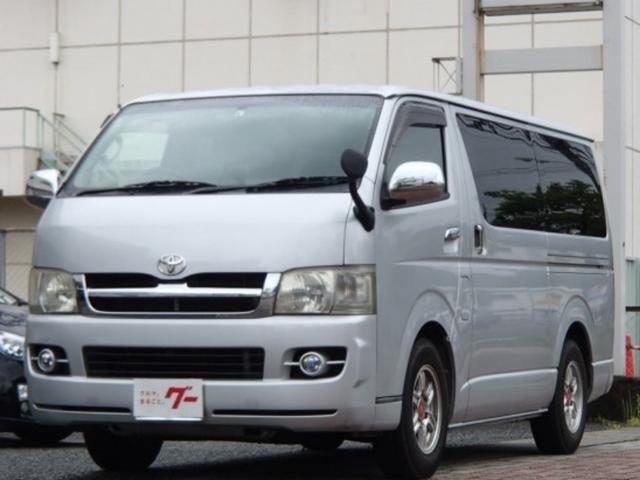 トヨタ ロングスーパーGL HDDナビ キーレス ETC 社外アルミ