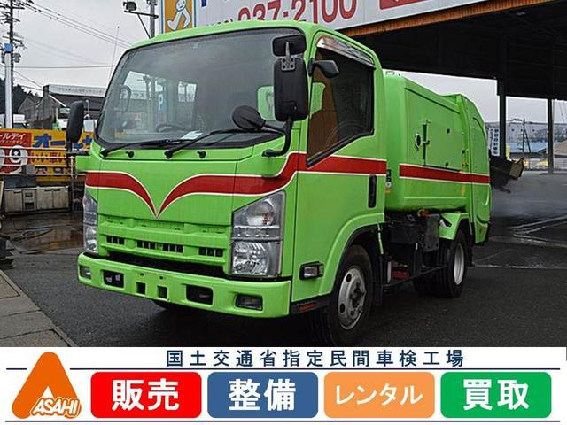 いすゞ 3t巻込みダンプ4.4m3