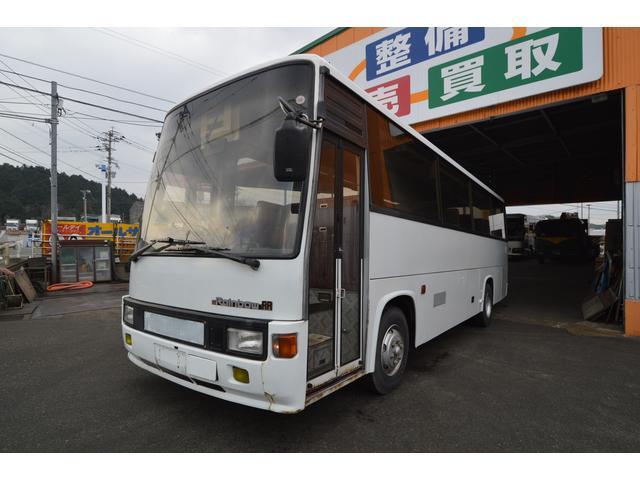 日野 29人乗り 中型バス 冷房エンジン エアサス