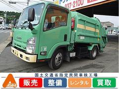エルフトラック2t パッカー4.1m3 バッテリー新品交換済