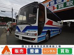 日野メルファ29人乗り中型バス  ボトルクーラー  TVモニター