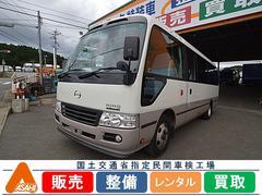 リエッセII29人乗りマイクロバス 8列シート テレビ 冷蔵庫 モケット