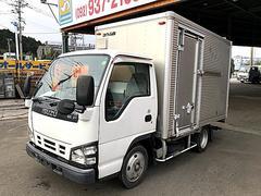 エルフトラック2t標準アルミバン アルミコルゲート サイドドアあり