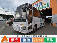 三菱ふそう29人乗りマイクロバス 7列シート 観光仕様 自動ドア