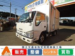 エルフトラック2t標準アルミバン サイドドア付 日本フルハーフ