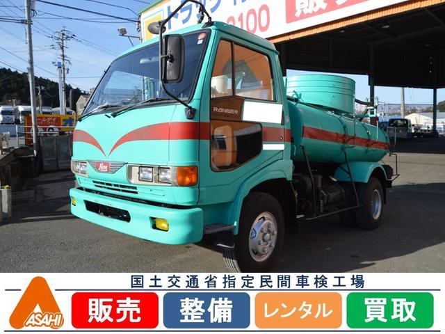 日野 4tバキューム車 森田