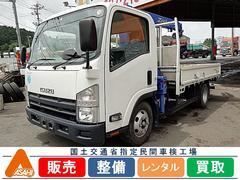 エルフトラック2t3段ワイドクレーン付 タダノ