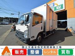 エルフトラック2tワイドアルミバン格納PG付 日本フルハーフ
