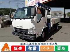 エルフトラック3t3段クレーン付 タダノ