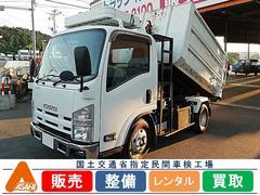 エルフトラック3t脱着装置付フックロール 極東開発