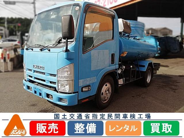 いすゞ 3tバキューム車 森田