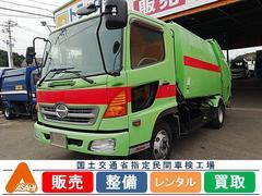 レンジャー4tプレス8.7立米パッカー車 極東開発