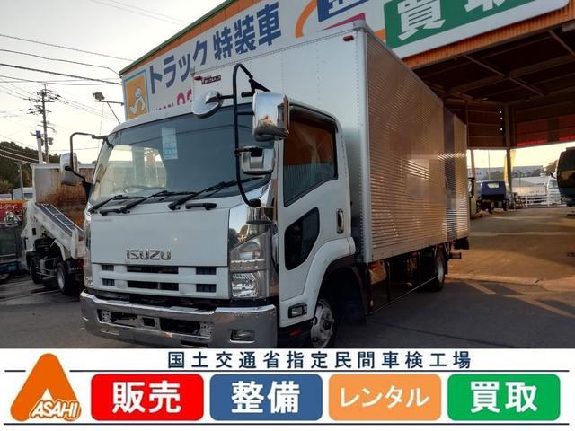 いすゞ 4tアルミバンフルゲート付 日本フルハーフ