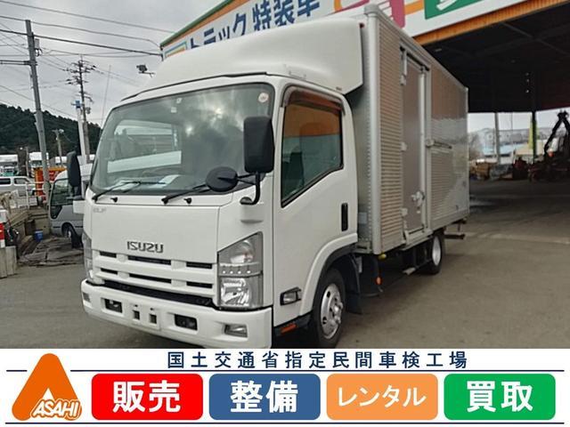 いすゞ 2tワイドアルミバンサイドドア付 日本フルハーフ
