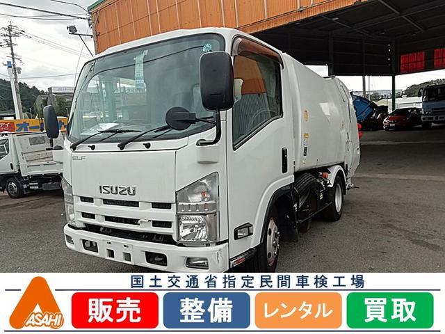いすゞ 2tプレス4.2立米パッカー車