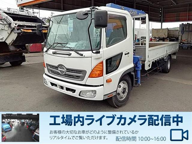 日野 レンジャー  2.75t 4段クレーン車ラジコン付