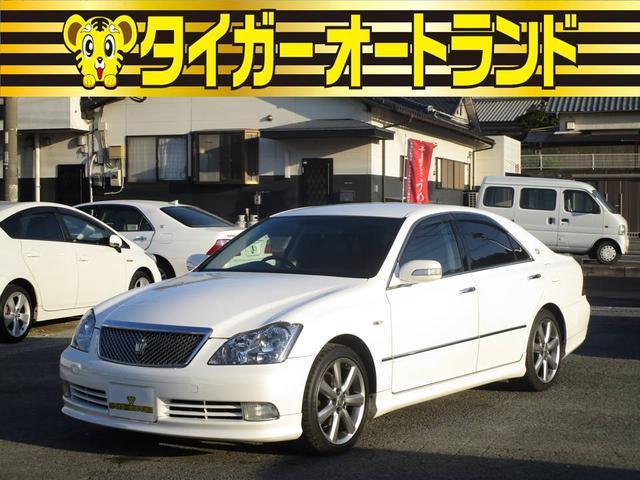 トヨタ アスリートGパッケージ 黒革シート プッシュスタート CD