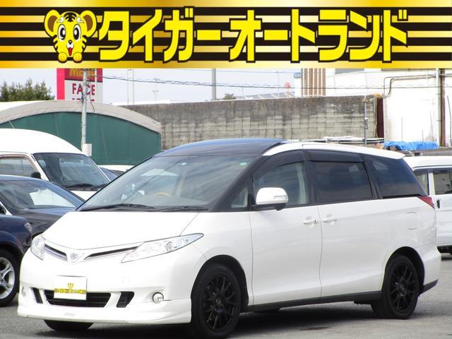 トヨタ G ダブルサンルーフ スマートキー プッシュスタート 両側パワースライドドア HDDナビ フルセグ DVDCD フリップダウンモニター バックカメラ パワーバックドア シートヒーター 電動格納サードシート