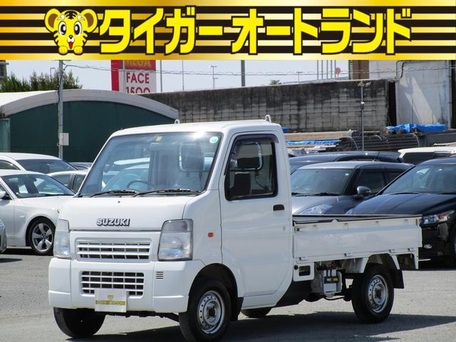 スズキ キャリイトラック KCエアコン・パワステ 5速 4WD ラジオ エアコン パワステ タイミングチェーン