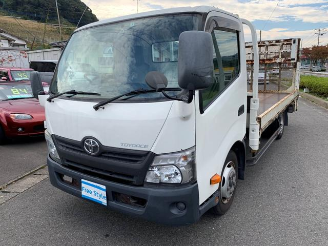 トヨタ ダイナトラック 昇降リフト積載車 フルセグナビ ETC Bカメラ 昇降リフト
