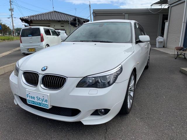 BMW 525i Mスポーツパッケージ ナビ スマートキー ETC HIDライト