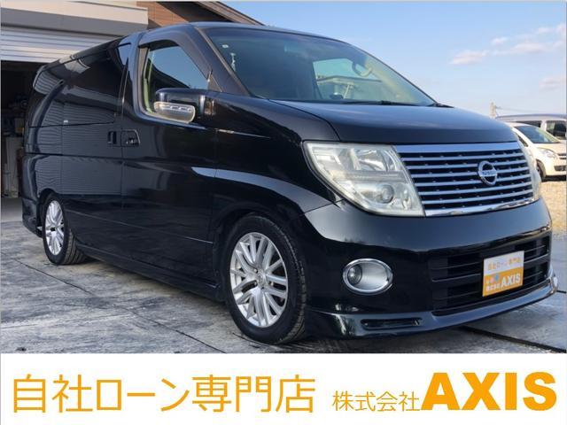日産 XL 社外SDナビ/バック・サイドカメラ/Wサンルーフ