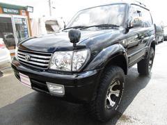 ランドクルーザープラドRZ 4WD HDDナビ 地デジ DVD 黒革調シートカバー