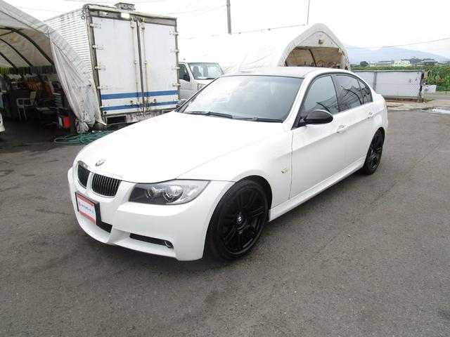 BMW 323i Mスポーツパッケージ HDDナビ フルセグTV DVD再生 バックカメラ キーレス プッシュスタート ミラーETC オートライト HID 前席パワーシート