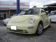 VW ニュービートルカブリオレ電動オープン ETC HDDナビ