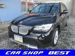 BMW X1xDrive 25i 4WD 黒革・サンルーフ