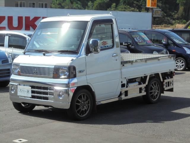 三菱 VX-SE Hi-Lo切替4WD・エアコン・パワステ・アルミ