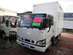 アトラストラック保冷車 保冷箱 サイドドア付き 床アルミ板ラッシングレール