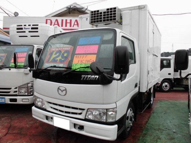 マツダ 冷蔵冷凍車 -30℃設定 スタンバイ付 サイドドア ETC