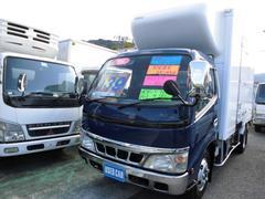 デュトロ冷蔵冷凍車 −30℃設定 スタンバイ付 ラッシングレール