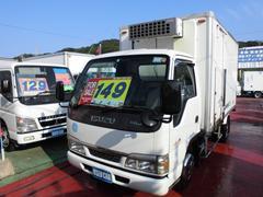 エルフトラック冷蔵冷凍車 −30℃設定 フルフラットロー サイドドア付