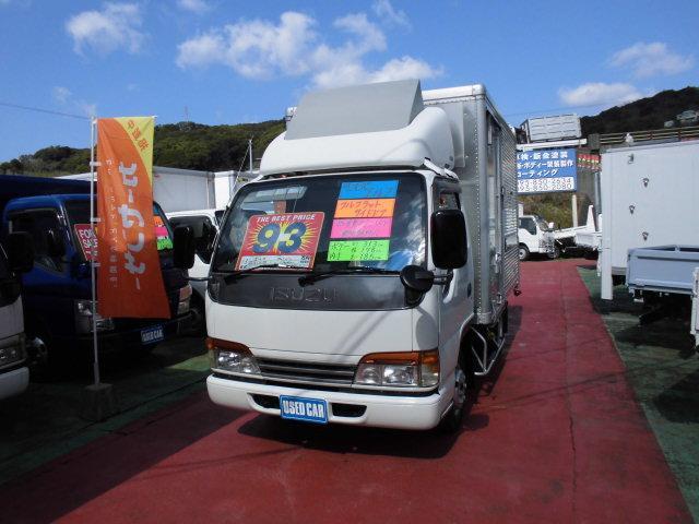 いすゞ エルフトラック アルミバン 総重量5トン以下 新免許対応 ...