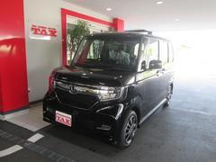 N BOXカスタムG・EXホンダセンシング 届出済未使用車 純正8インチナビ