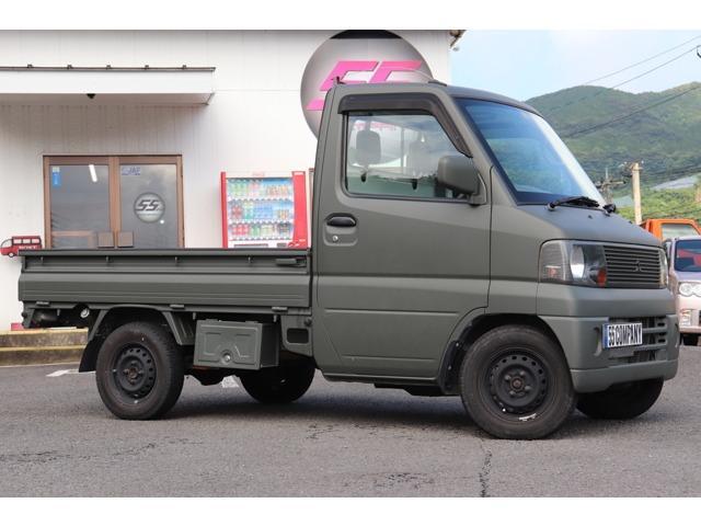 三菱 ミニキャブトラック Vタイプ 5速MT 三方開 ツヤ消グリ...