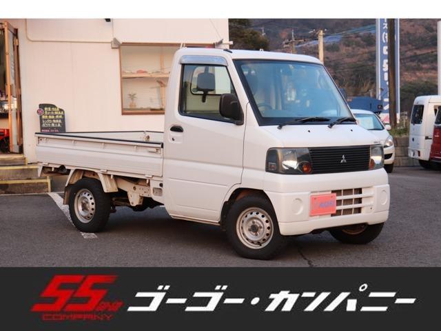 三菱 TL 4WD パワステ エアコン 5速MT 純正ラジオ 三方開