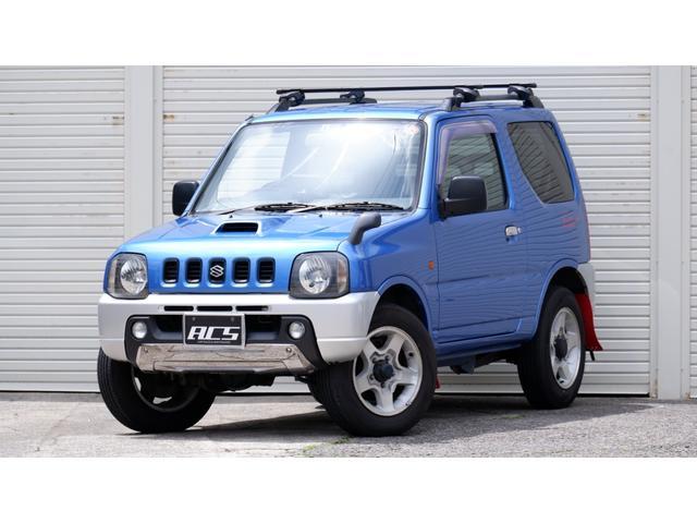 スズキ XC 4WD オートマ LEDヘッドライト ルーフキャリア ETC マッドフラップ CD