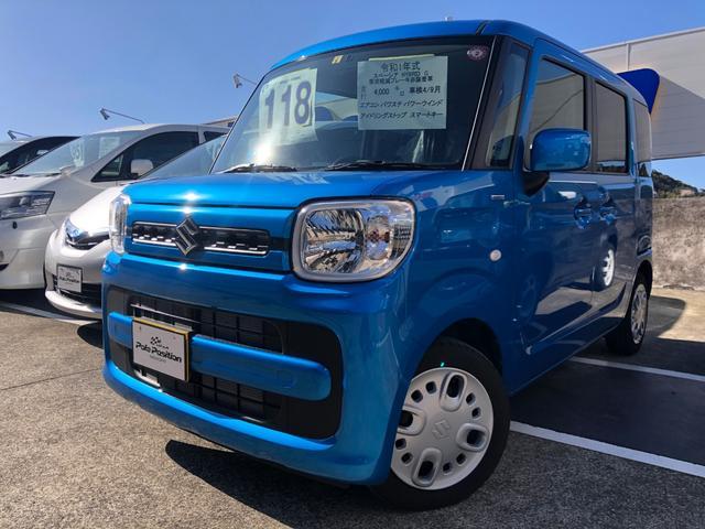 「スズキ」「スペーシア」「コンパクトカー」「長崎県」の中古車