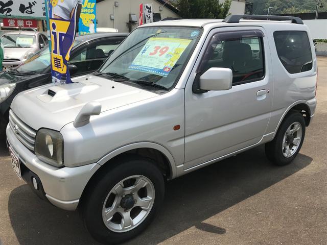 スズキ XC 4WD ターボ キーレス CDオーディオ 純正アルミ