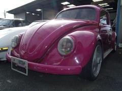 VW ビートルオーバルウィンド 左ハンドル 本革シート アルミホイール