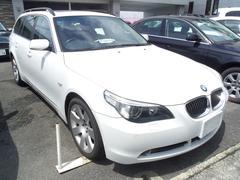 BMW550iツーリング サンルーフ ETC 革シート
