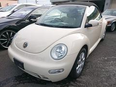 VW ニュービートルカブリオレベースグレード 本革シート シートヒーター 純正アルミ