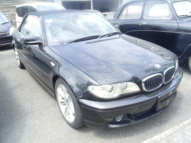 BMW 330Ciカブリオーレ 本革シート 純正AW
