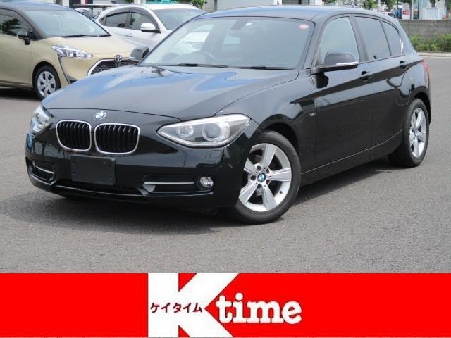BMW 1シリーズ 116i スポーツ ターボ HDDナビ ETC DVD再生 CD再生 スマートキー プッシュスタート HIDライト 純正アルミホイール アイドリングストップ 電動格納ミラー ディーラー車 右ハンドル